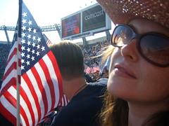 obamarama 005 (onlyemarie) Tags: flag denver dnc obama invesco obamarama