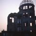 原爆ドーム:dome,sunset