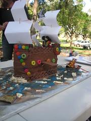 The Pirate Ship cake