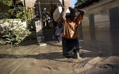 Haiti Floods after Gustav and Hanna