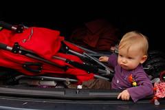 Janne in de koffer