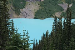 Lake Moraine from the top (1) (Jagruti Shah) Tags: lake scenery canadianrockies lakemorraine