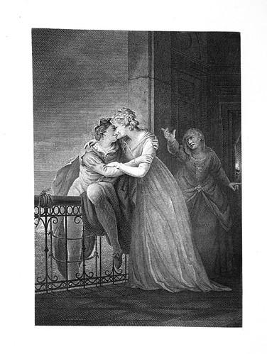 12- Romeo y Julieta- Act III Esc V- Alcoba de Julieta- John Francis Rigaud