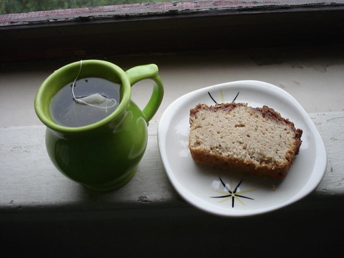 Tea and a slice of cake