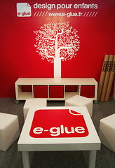 e-glue @ Maison & Objet // Sept 08 (e-glue) Tags: show kids design exhibition interiordesign walldecor tradefair wallstickers maisonobjet walldecals salonmaisonobjet