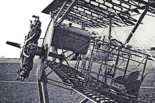 LeRhone Engine In Sopwith Pup