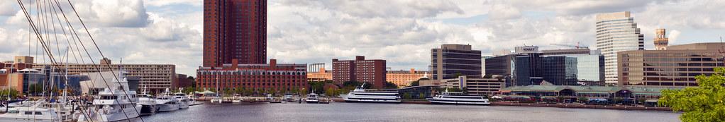 Inner Harbor West Baltimore
