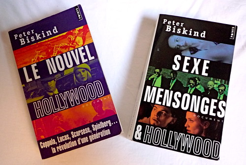 """Le Nouvel Hollywood\"" et \""Sexe, Mensonges et Hollywood\"" couvertures"