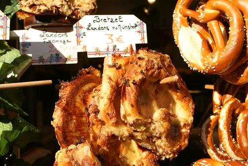 Bretzels aux lardons & au munster