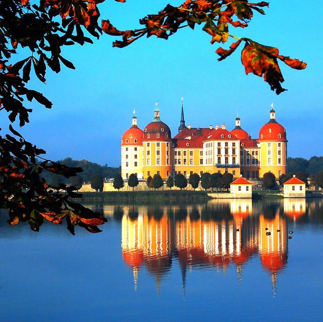 Schloss Moritzburg in Saxony, Germany