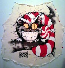 cheshire cat (mikaplexus) Tags: cats art film animals cat cheshire alice cartoons aliceinwonderland cheshirecat ireallylike