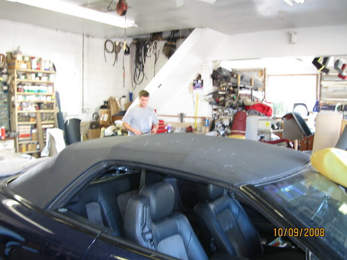 Joe's Upholstery Frederick Maryland Convertible Top repair