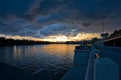 IMG_3096 (Sergei Rogozhnikov) Tags: sunset clouds river stpetersburg landscape quay portfolio embankment bolshayanevka