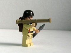 BrickArms Bazooka M9 prototype (right) (by Dunechaser)