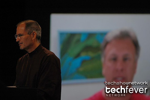 Apple Ceo Steve Jobs at Developer's conference WWDC 2007 by TechShowNetwork.
