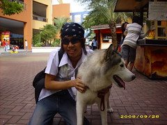 Marc Andrew Tuang Mallari- The photographer (artdrew) Tags: dog mallofasia marcandrewtuangmallari