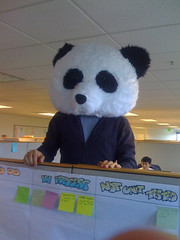 Seriously? A Man In A Panda Suit Threatens To Blow Up A TV Station!