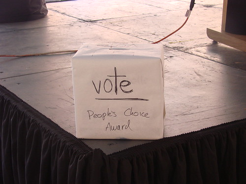 2008 Vendy's People Choice Ballot