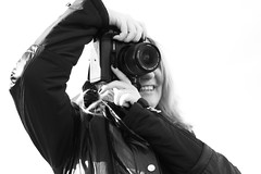 Photographer (Mourner) Tags: camera portrait blackandwhite bw smile canon photography photographer kitlens photographers 2008 450d canon450d 1855mm3556f
