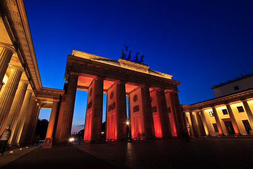 Brandenburger Tor – Festival of Lights 2008, Berlin