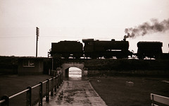 J38 by the seaside 1966 (4buttongnome) Tags: scotland steam locomotive burntisland j38