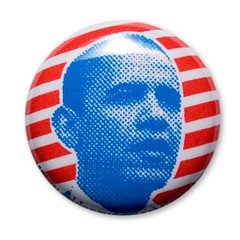Obama Pin (by ann-dabney)