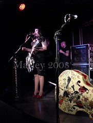 HorrorPops - Calgary (adoreddisorder) Tags: eve calgary its october day all tour live 7 warehouse 2008 patricia horrorpops hallows