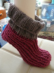 ribby slipper socks