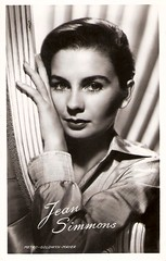Jean Simmons (Truus, Bob & Jan too!) Tags: cinema film vintage movie star kino european jean postcard cine screen actress simmons british mgm hamlet postale cartolina carte takken filmstar greatexpectations ansichtkaart jeansimmons metrogoldwynmayer