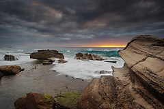 North Bungan Colours (Tim Donnelly (TimboDon)) Tags: ocean sea sunrise rocks australia nsw cokin bungan