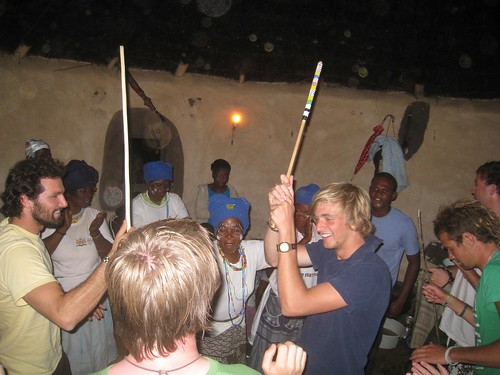 Dancing was mandatory after dinner