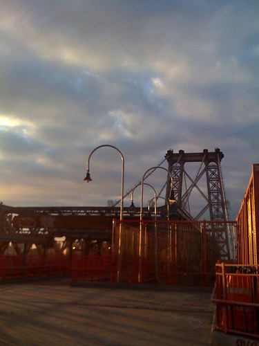 The Sky Above the Williamsburg Bridge
