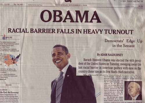 New York Times Nov. 5, 2008