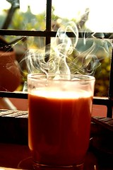 hot tea for cold winter (vivekrajkanhangad) Tags: life winter hot cold tea flames kerala