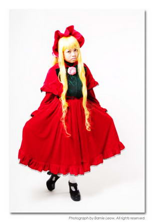 Rozen Maiden Shinku Cosplay