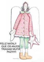 FELIZ, FELIZ, FELIZ NATAL!!!! RECHEADO DE BONS ANJOS GUARDIES!!!  HAPPY, HAPPY, HAPPY CHRISTMAS!! With good guardian Angels! (AP.CAVALARI / ANA PAULA) Tags: christmas baby natal angel ana doll handmade embroidery paintings decoration drawings paz cloths cor desenho anja coloredpencil telas decorazione bordados anapaula dekoration decoracin panni handgemacht clothdoll tcher ricami cavalari stickereien lapizdecor hechosamano fattiamano stoffpuppe anapaulacavalari apcavalari anpaula apcavaari