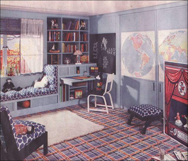 Vintage Style Kids Room: The World's Best Photos Of 1930s And Linoleum
