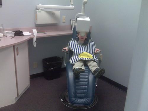 Finn's 1st dentist visit