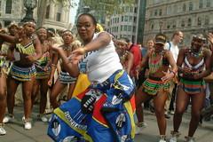 DSCF3126  Todd & Umoja Zulu dance girls at Trafalgar Square (photographer695) Tags: africa ladies london square dance south trafalgar zulu umoja