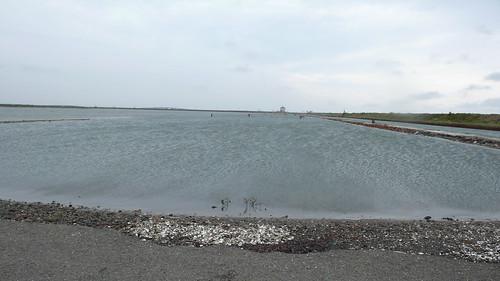 觀海樓的瀉湖