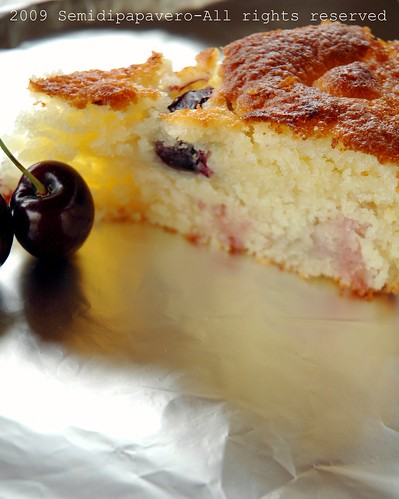 Buttermilk cherry cake