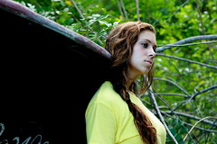 CHELSEY MART. (Ally Newbold) Tags: trees black slr nature yellow shirt youth digital canon allison lens outside photography rebel boat photo branches young explore teen teenager killa mm 50 frontpage mart chelsey xti