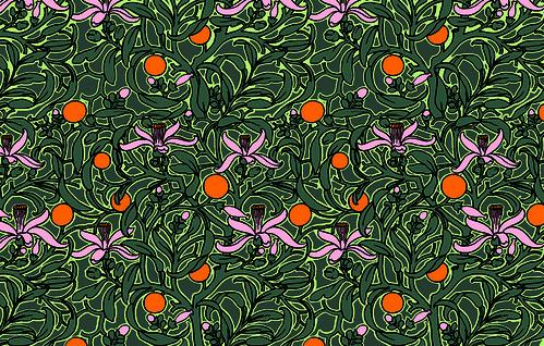 Prada Infusion de Fleur d'Oranger_Packaging pattern