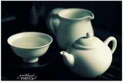 you know I ain't no Juliet (StaceyHH) Tags: monochrome tea chinese teapot strong delicate porcelain