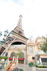 The Eiffel Tower in Las Vegas (+2EV) (Werner Kunz) Tags: world sky urban usa gambling money paris france tower night america photoshop french hotel town us nikon lasvegas wideangle center eiffel casino lucky stadt sight hdr metropole photomatix gambeling colorefex nikond90 topazadjust lucysart werkunz1