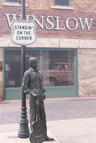 Standin' on the Corner....