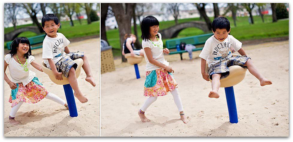 Playground Diptych 2