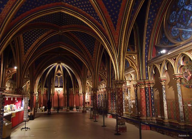 Chapelle basse de la Sainte Chapelle