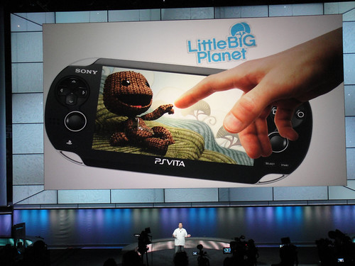 E3 2011 - Sony Media Event - Little Big Planet on the PS VITA