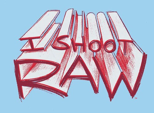 5848808037 82cd99678d I SHOOT RAW Super Hero Shirt